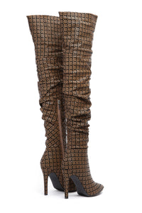Status Quo Boot - Brown/Black