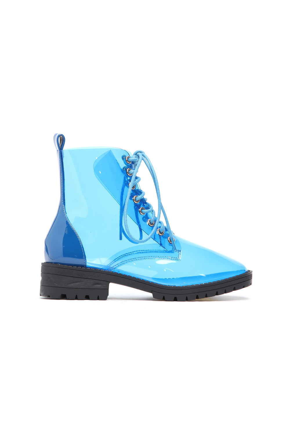 Are We Not Clear Bootie - Blue