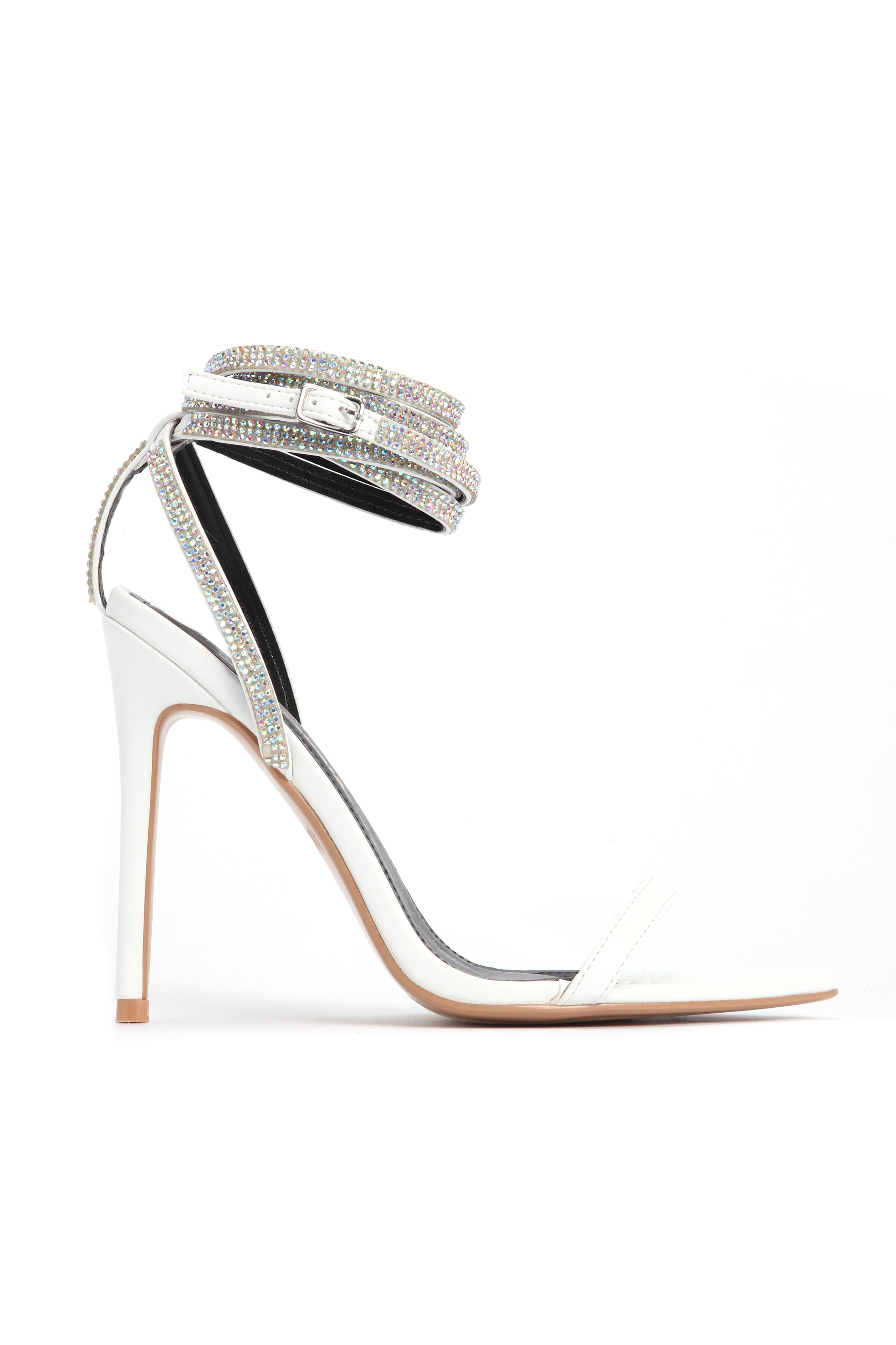 4886c1d4447 All About That Sass Heeled Sandal - White