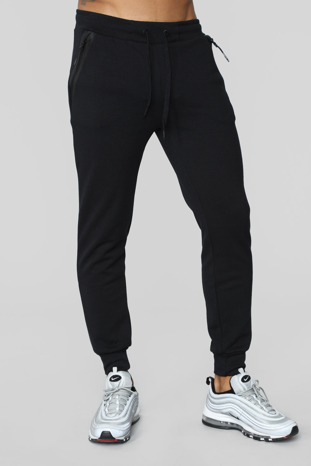 Lay Back And Relax Joggers - Black
