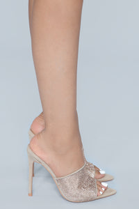 Can't Be Fooled Heeled Sandal - Nude Angle 5