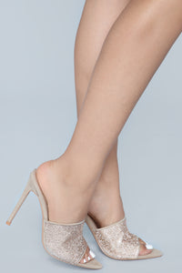 Can't Be Fooled Heeled Sandal - Nude Angle 1