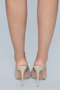 Can't Be Fooled Heeled Sandal - Nude Angle 7