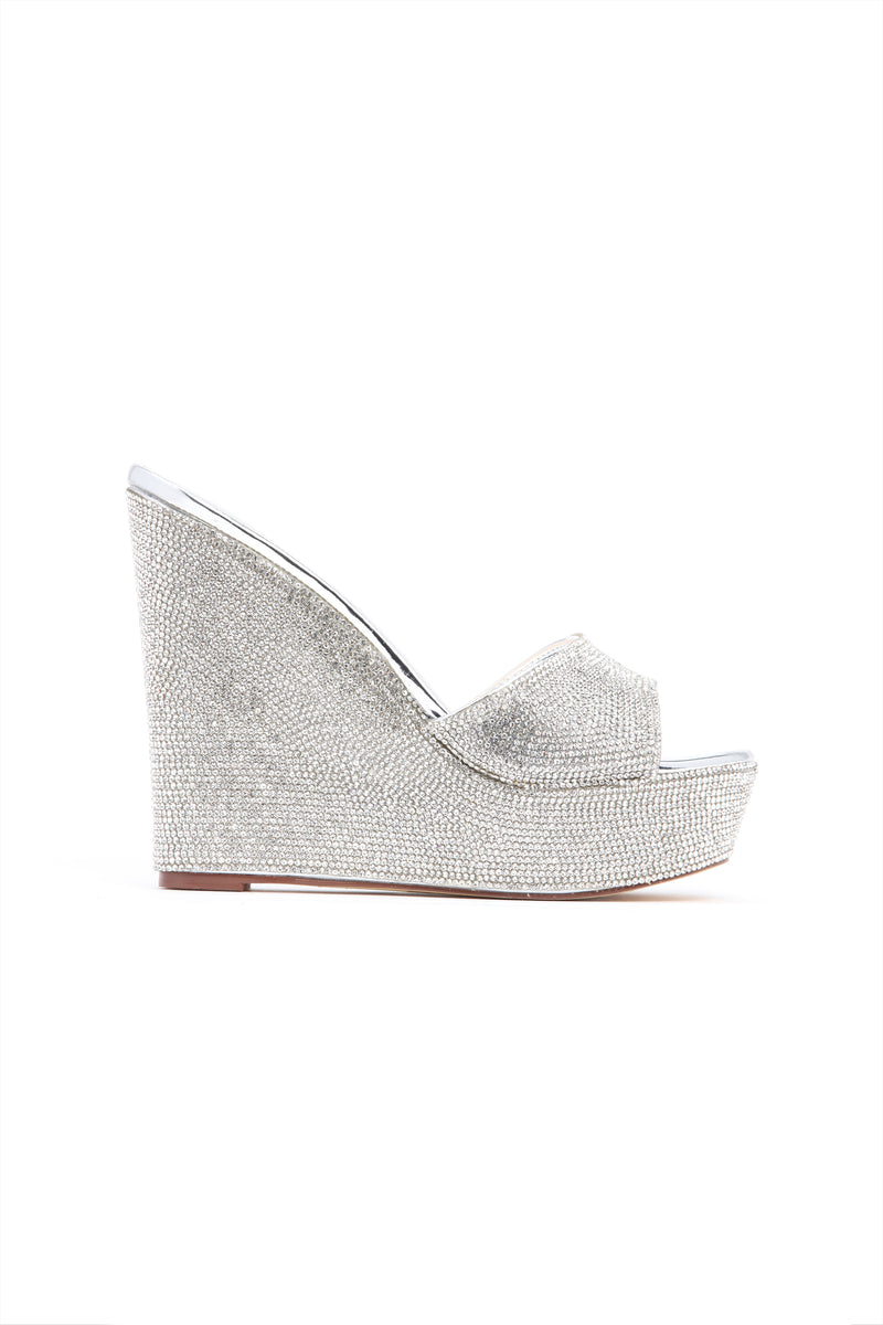 Ice Queen Wedge - Silver