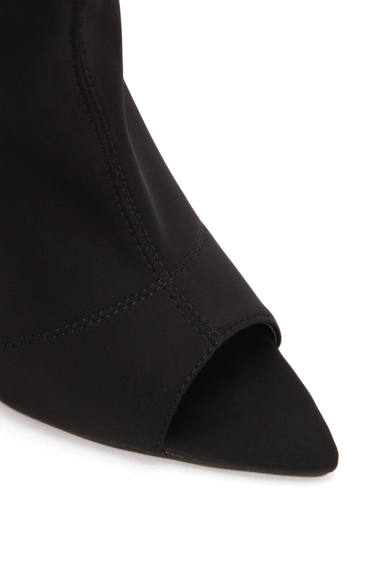 No More You And I Bootie - Black