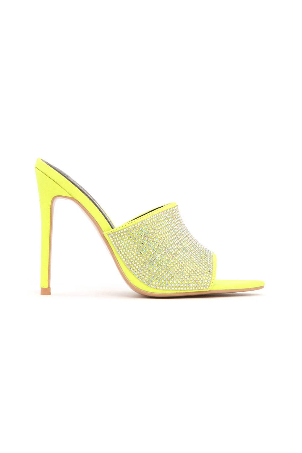 Can't Be Fooled Heeled Sandal - Lime