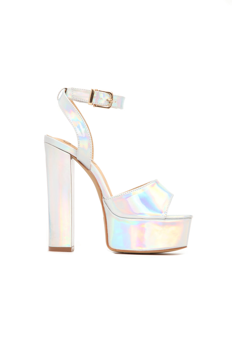 I Know I Can Heel - Silver Iridescent