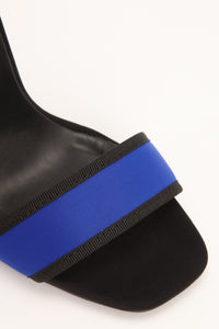 Diving Deep Heel - Black/Blue