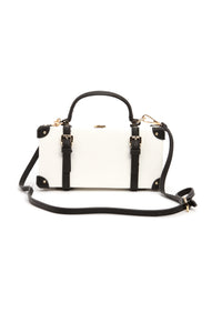 Here's The Case Satchel - White