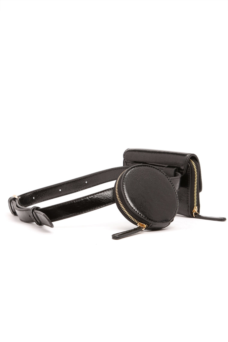 Love Deluxe Fanny Pack - Black