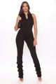 Good Vibes Only Jumpsuit - Black