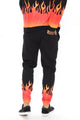 Flaming Jogger - Black/combo