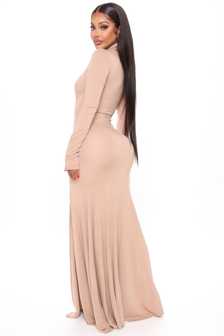 Great Impressions Maxi Dress - Taupe