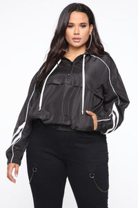 Run For The Hills Jacket - Black