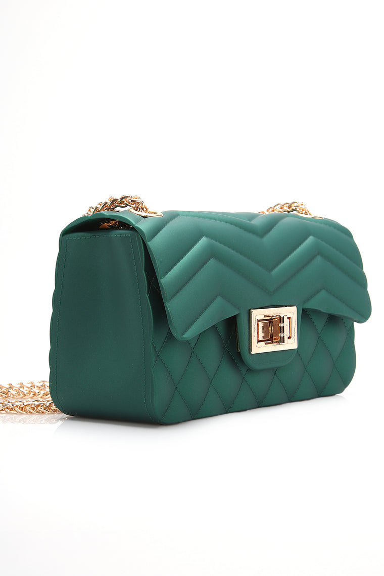 Cater To You Quilted Jelly Bag - Hunter