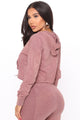 Power Athleisure Mineral Wash Hoodie - Rose