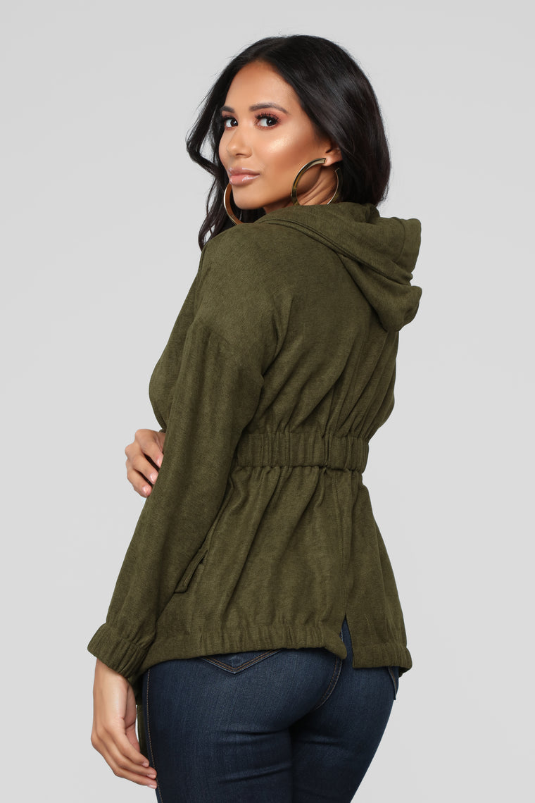My Go To Jacket - Olive