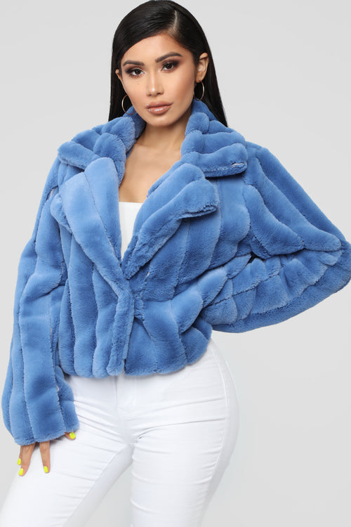 It's Fur Tonight Jacket - Blue