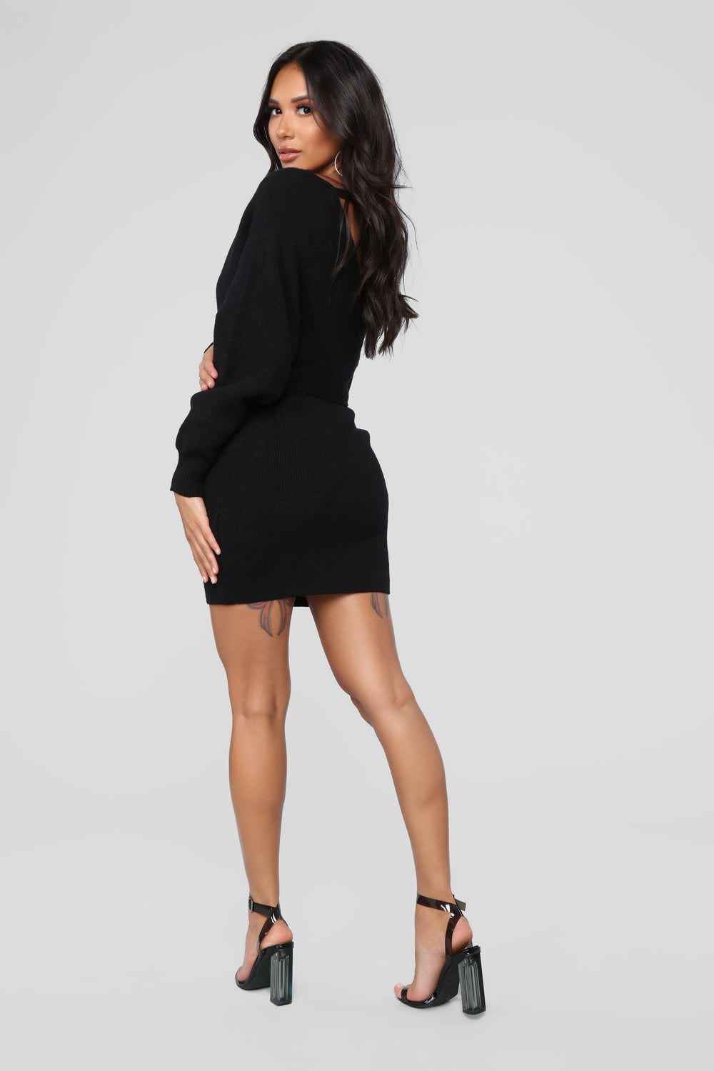 Hangin' With The Girls Dress - Black