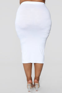 No Manners Skirt Set - White Angle 24