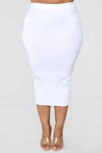 No Manners Skirt Set - White Angle 22