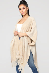 Kept My Promise Cardigan - Beige Angle 1