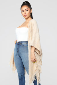 Kept My Promise Cardigan - Beige Angle 3