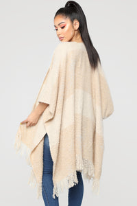 Kept My Promise Cardigan - Beige Angle 5