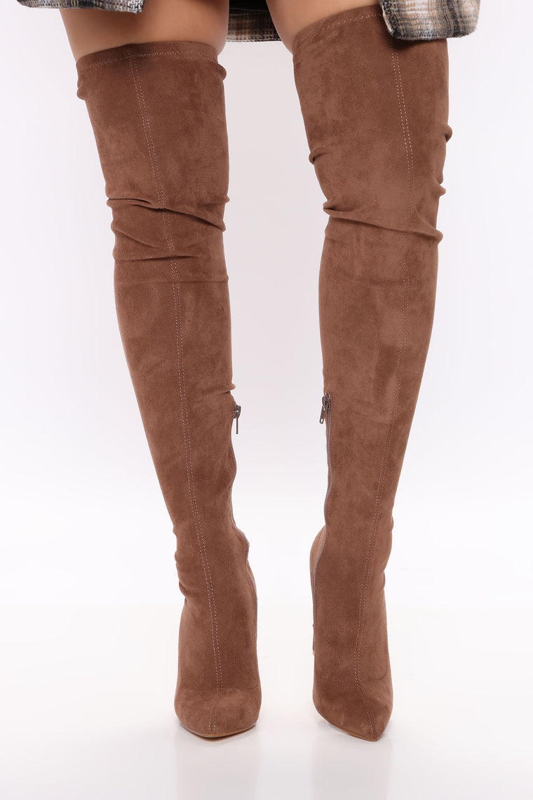 Places To Be Over The Knee Boots