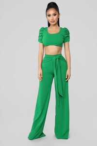 So Chic Set - Kelly Green