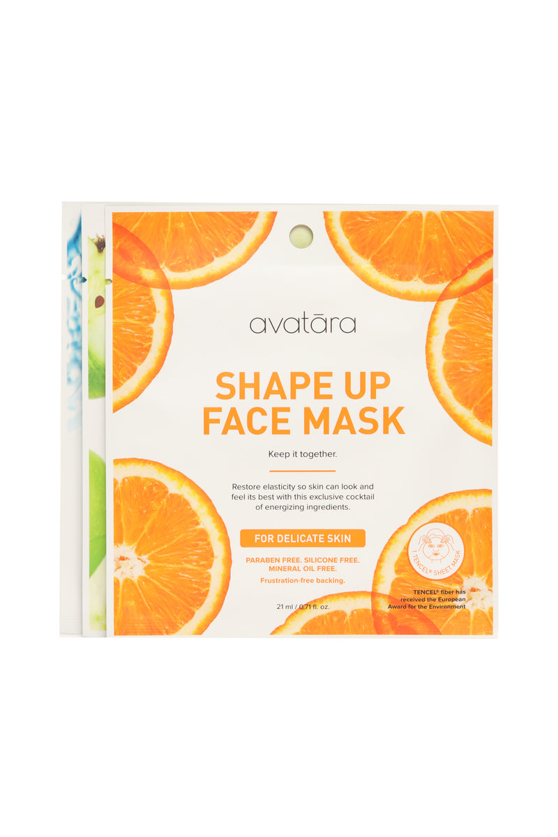 Avatara Punch Up Face Mask Set