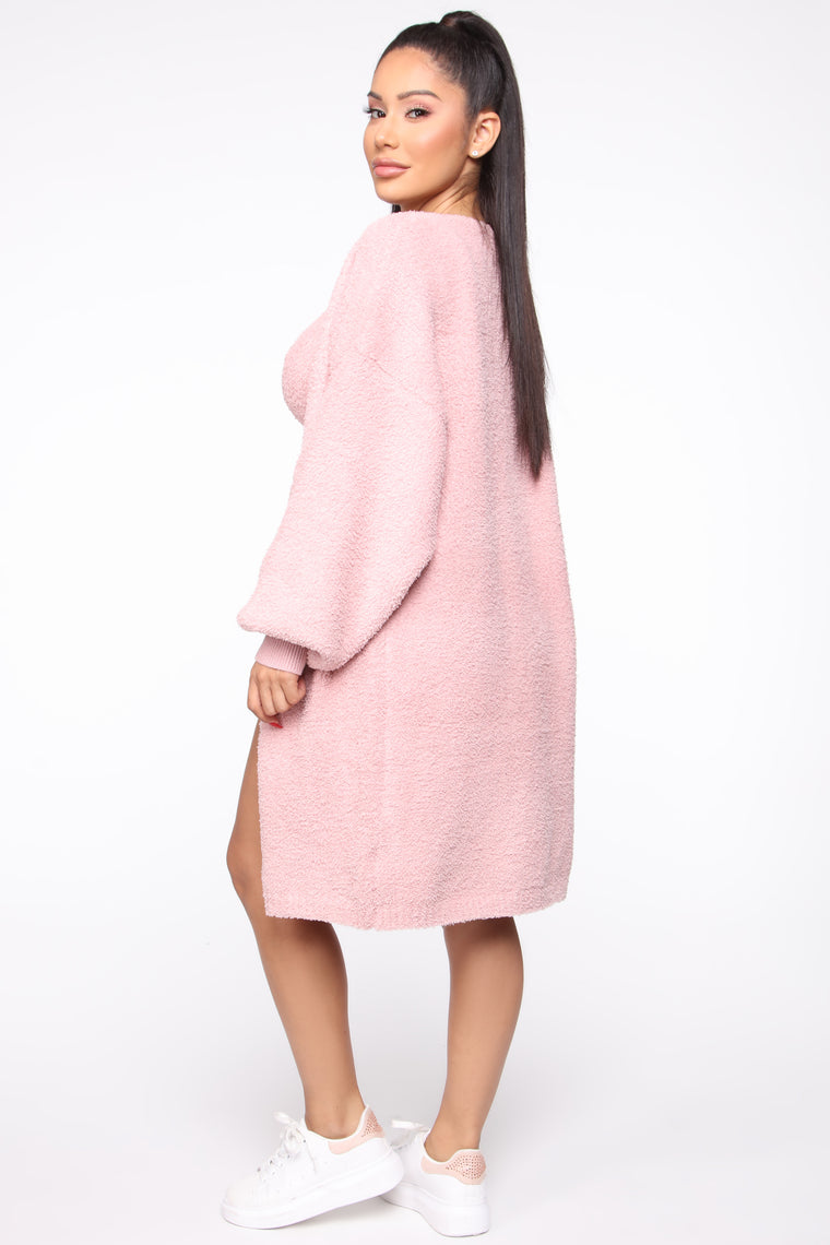 Living In It Cozy 3 Piece Set - Pink