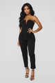 No Ordinary Night Jumpsuit - Black