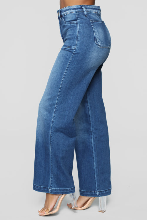Good Ol' Days High Rise Jeans - Dark Denim