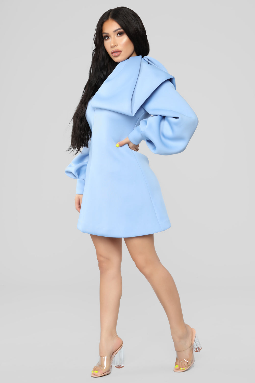 Contagious Love Dress - Light Blue
