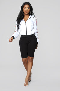Toxic Lover Jacket - White/combo