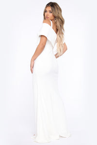 Evening Debut Gown - White