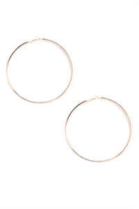 Baby Twist And Shout Earring Set - Rose Gold Angle 6