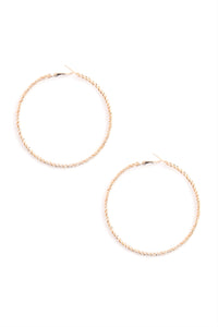 Baby Twist And Shout Earring Set - Rose Gold Angle 9