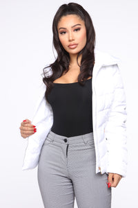 With No Fears Jacket - Ivory