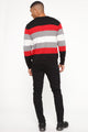 Santino Sweater - Red/combo