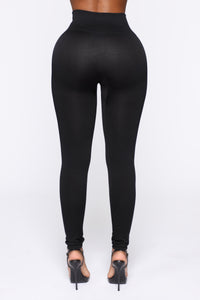 Smooth It Out High Rise Legging - Black