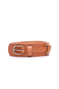 Ever So Chic Belt - Taupe