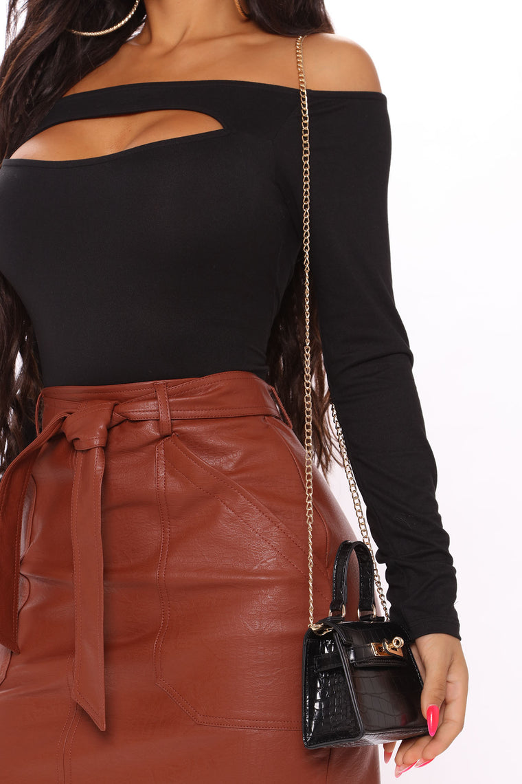 Dying To Have Mini Bag - Black
