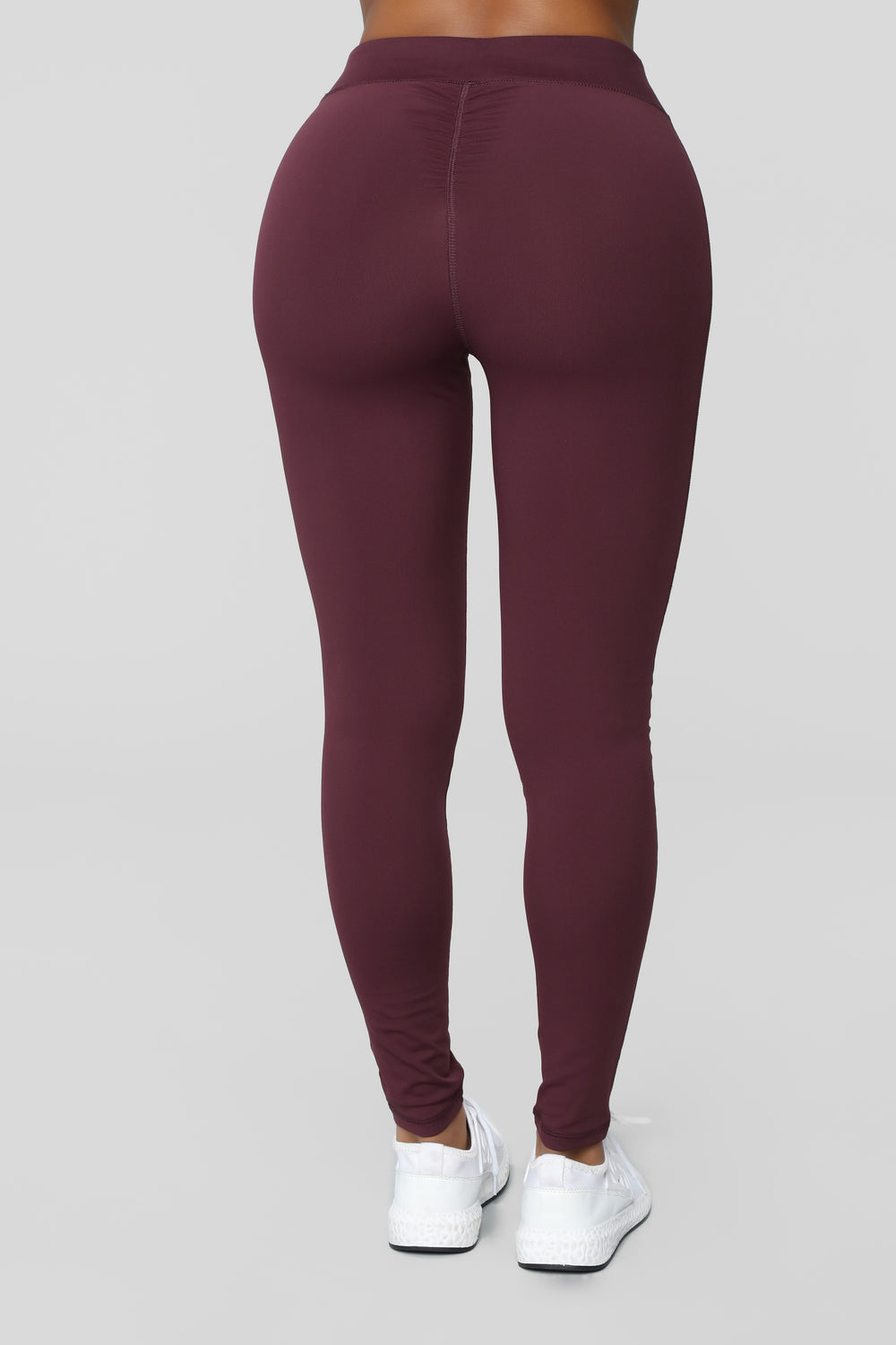 High Waisted Scrunch Booty Performance Legging - Purple