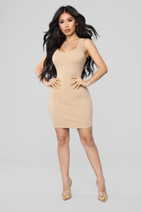 One of the Boys Dress - Nude Angle 2