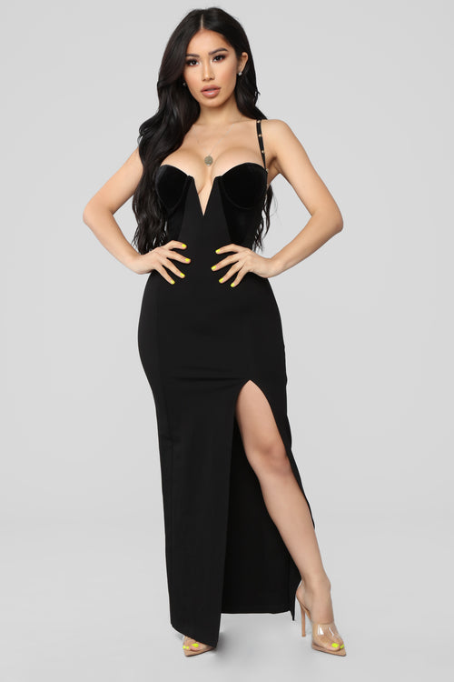 Strapless Little Black Dress