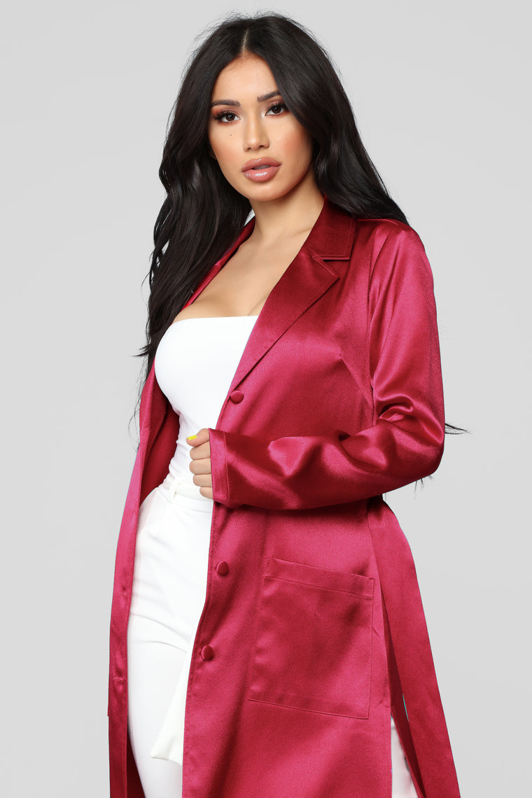 Ready For Business Jacket - Pink