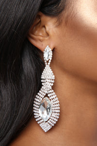 Gemalorez Earrings - Clear
