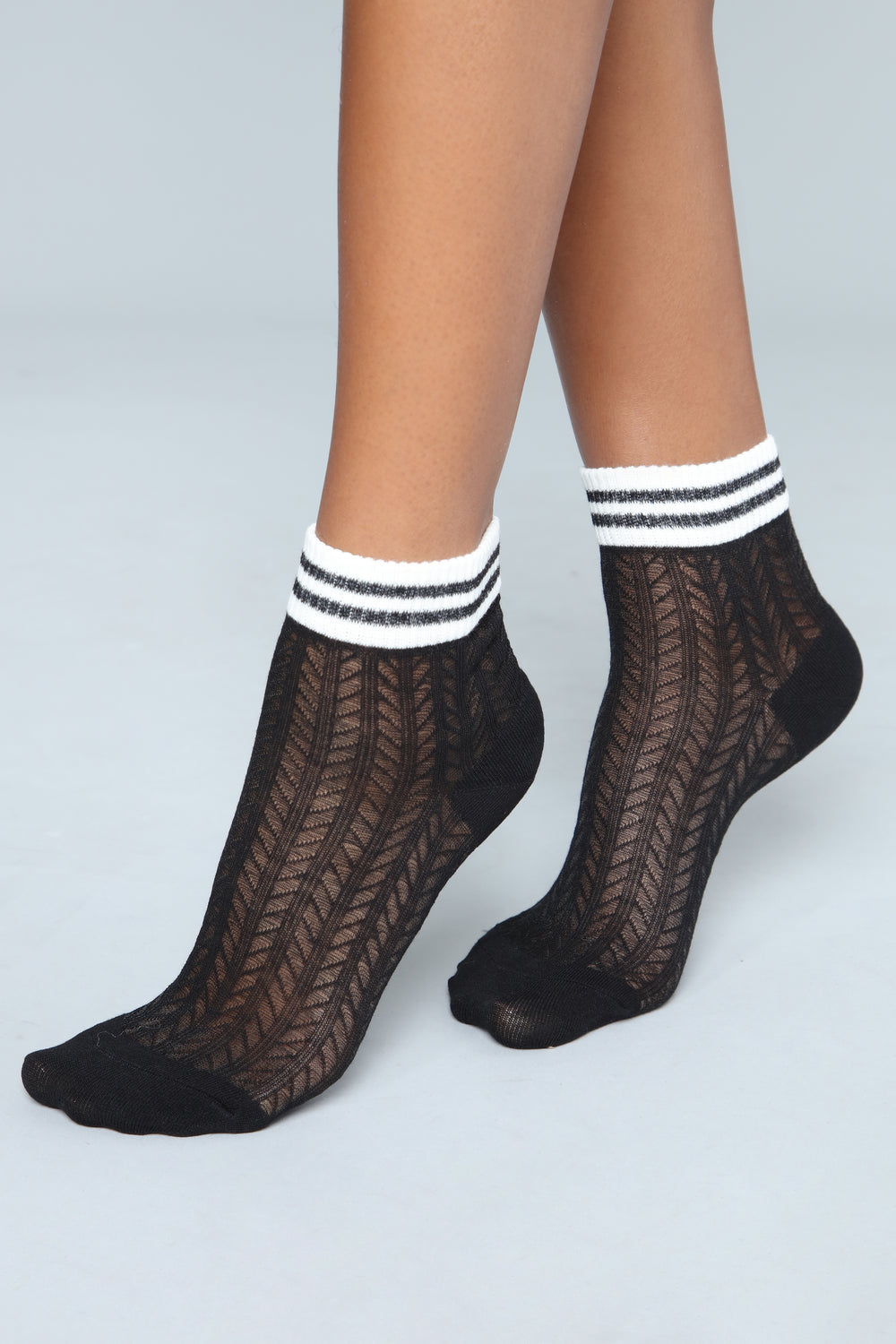 Only With My Crew Socks - Black